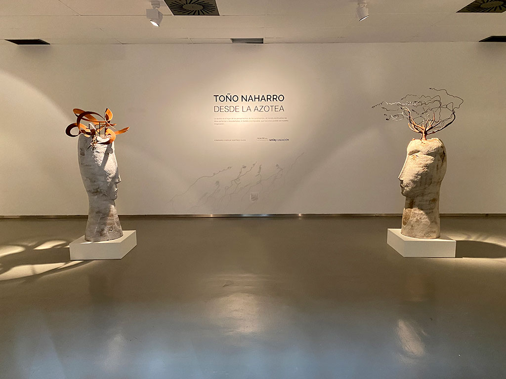 Toño Naharro - Escultor invitado a Sculto Rioja 2021